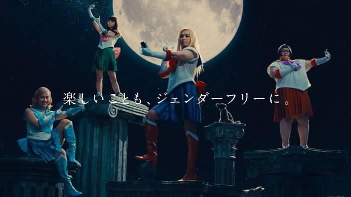 「美少女戦士セーラームーン Crystal×モンスト」コラボCMより。