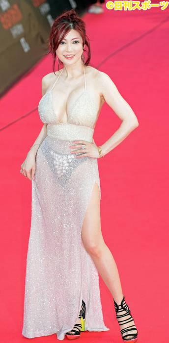 ドレスがマッチした叶美香