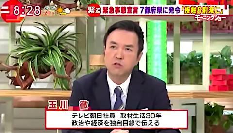 モーニング ショー 田崎