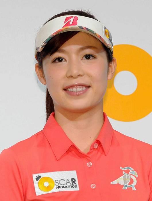 大山亜由美 ゴルフ