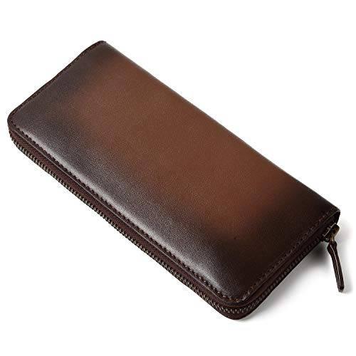 63ce80771f92 カラーは5種類から選択可能で、カードホルダーだけでも15つあり、収納ポケットも充実しています。 メンズおすすめおしゃれな二つ折り財布
